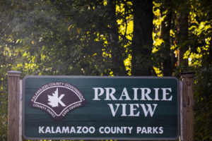 sign for Prairie View park